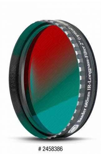 Baader IR-Passfilter 2 inch voor planeet fotografie