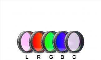 Baader L-RGB-C CCD Filter Set 1.25 inch