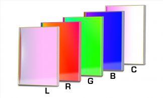 Baader L-RGB-C CCD Filterset 50x50 mm
