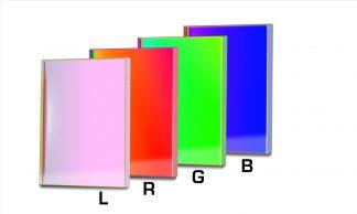 Baader L-RGB CCD-Filterset 50x50mm