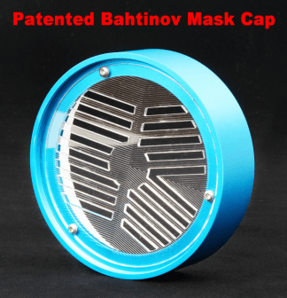 William Optics Bahtinov Mask voor 81 serie Blauw