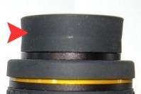 Baader Hyperion M43 rubber schroefdraadbeschermer en oogschelp (siliconen rubber)