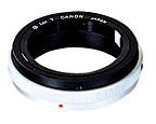 T-ring voor Canon EOS camera's.