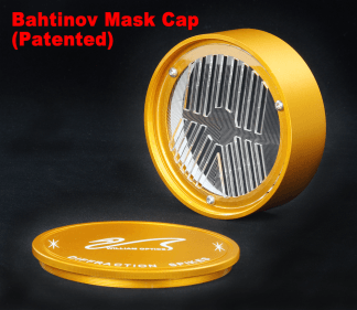 William Optics Bahtinov Mask voor 70 serie Goud