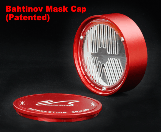 William Optics Bahtinov Mask voor 70 serie Rood