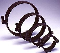 Guan Sheng buisringen 136mm set, zwart