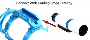 WO beugel/guidescope