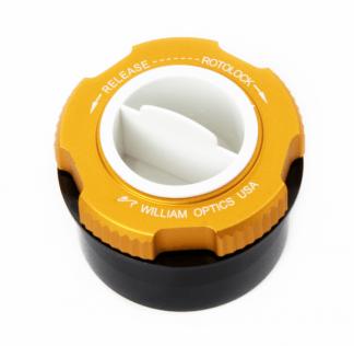 William Optics RotoLock adapter 1 25 inch Goud