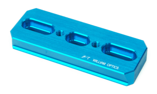 William Optics DSD 110 zwaluwstaart blauw