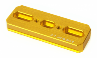 William Optics DSD 110 zwaluwstaart goud