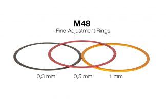 Baader M48 afstelringen set