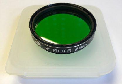 Guan Sheng Dark Green 2 inch Filter #58