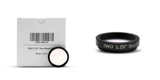 ZWO Duo Band 1.25 inch filter, Narrowband