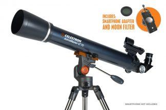 Celestron AstroMaster LT 70AZ extra foto adapter maanfilter