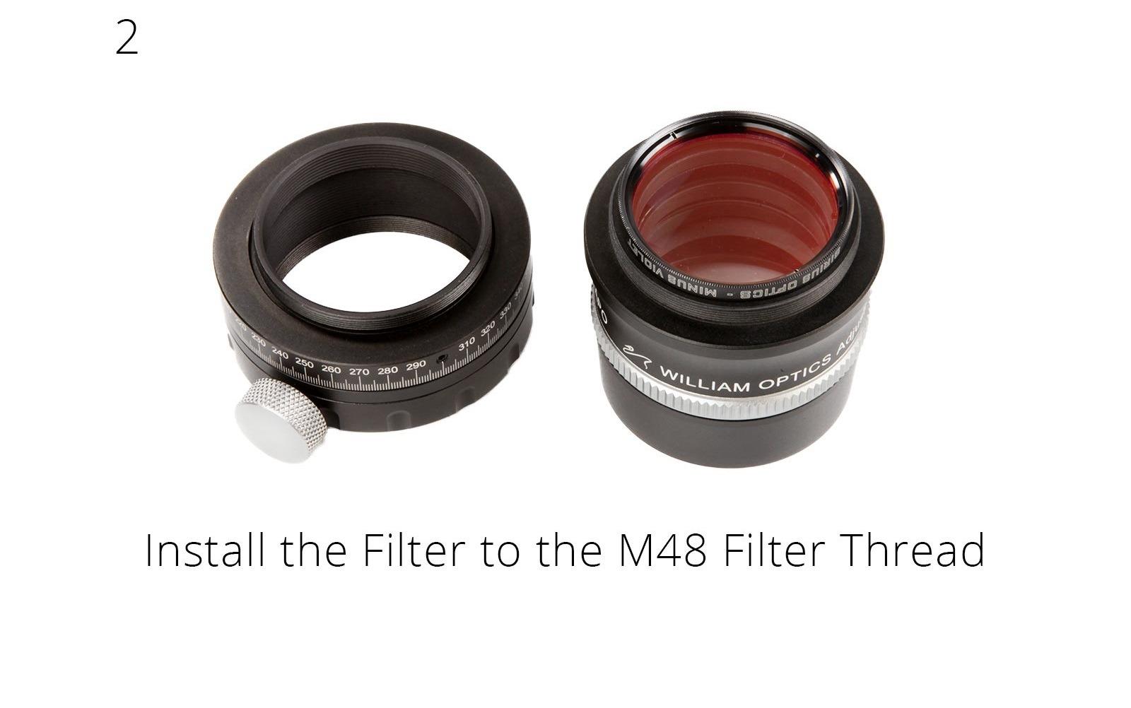 Rotator en filtermontage