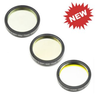 ZWO 1.25 inch Narrowband filter set OIII/SII/H-Alpha