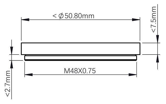 ZWO Filter Drawer for Nikon Lens