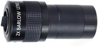 Ganymedes 2 inch Barlow lens 2x met adapter